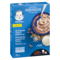 Gerber - Baby Cereal - Wheat, Yogurt & Blueberry