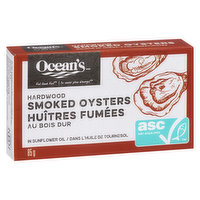 Ocean's - Smoked Oysters in Sunflower Oil