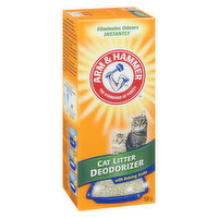 Maximum Odour Control. Cat Litter Deodorizer with Activated Baking Soda. Eliminates Odours Instantly.