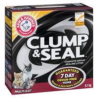 Arm & Hammer - Clump & Seal Cat Litter - Multi Cat