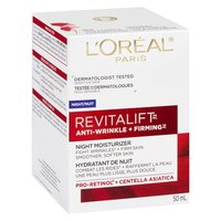 L'Oreal - Revitalift Night Cream Anti Wrinkle Firming, 50 Millilitre