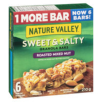 Nature Valley - Granola Bars - Sweet & Salty Roasted Mixed Nut