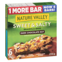 1 more bar - Now with 6 bars! Made with whole grains, dark chocolate chunks & roasted peanuts & almonds. Dipped in a chocolate coating. 6x36g bars.