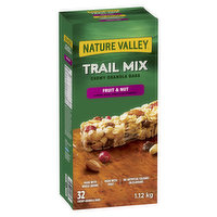 32 Bars. Almond, Raisin, Peanut and Cranberry. Made with Real Fruit and Whole Grain