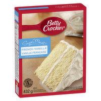 Betty Crocker - Super Moist French Vanilla Cake Mix, 432 Gram