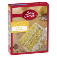 Betty Crocker - Super Moist Lemon Cake Mix, 432 Gram