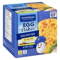 Burnbrae Farms - Egg Bakes! Egg Patties, 4 Each