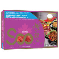 Soo - Sweet Grilled Pork Jerky- Sliced, 170 Gram