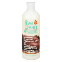 Live Clean - Hydrating Hand Soap Refill - Argan Oil