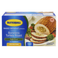 Butterball - Boneless Stuffed Turkey Breast, Frozen, 1.5 Kilogram
