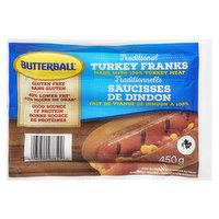 Butterball - Turkey Franks - Gluten/Lactose Free