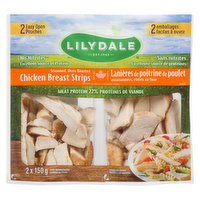 Lilydale Lilydale - Oven Roasted Chickrn Breast Strips, 300 Gram