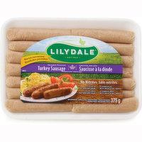 Lilydale Lilydale - Turkey Sausages, Fresh, 375 Gram