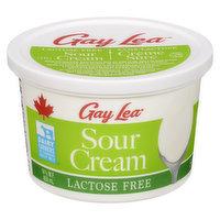 Gay Lea - Lactose Free Sour Cream 14% M.F, 450 Millilitre