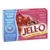 Jell-O - No Sugar Added Cherry Jelly Powder