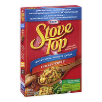 41% Less Sodium than our Regular Chicken Stuffing Mix. Low in Saturated Fat. Cholesterol Free.