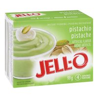 Pistachio Flavoured Instant Pudding Mix. 4 Servings per Package.