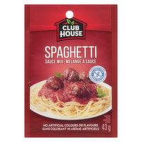 Club House - Spaghetti Sauce Mix, 43 Gram