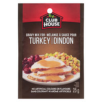 Club House - Turkey Gravy Mix, 25 Gram