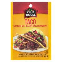 Club House - Seasoning - Taco, 35 Gram