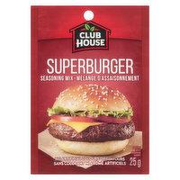 Club House - Super Burger Seasoning Mix, 25 Gram