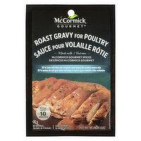 McCormick Gourmet - International Roast Gravy For Poultry - Red. Salt, 30 Gram