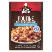 Club House - Gravies Poutine Mix - Less Salt, 42 Gram