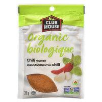 Club House Club House - Organic Chili Powder, 31 Gram