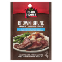 25% Less Salt than our Original Brown Gravy Mix. Fat Free. No Artificial Colours or Flavours.