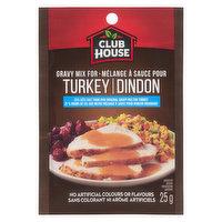 Club House - Turkey Gravy Mix - Less Salt, 25 Gram