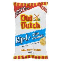 Old Dutch - Rip L Potato Chips, 600 Gram