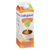 Dairyland - Lactose Free Half & Half Cream 10% M.F.