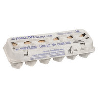 Avalon - Large Brown Eggs, Organic, 12 Each