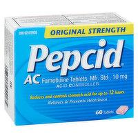 Pepcid - AC Tablets Orignial 10mg, 60 Each