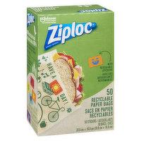Ziploc Ziploc - Recyclable Paper Bags, 50 Each