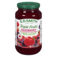 E.D. Smith - Triple Fruits Jam - Raspberry w/ Straw & Blkbrry