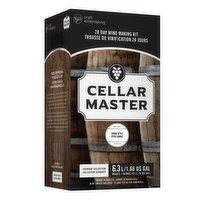 Cellar Master - 28 Day Wine Kit - Shiraz, 1 Each
