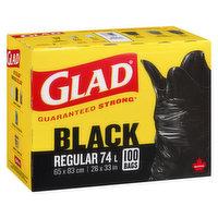 Glad - Easy Tie Garbage Bags - Regular