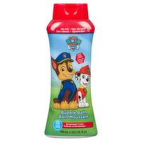 Make bath time fun again with charaters from Paw Patrol Marshall & Chase! Green Apple scented. Dye free, Hypo-allergenic & tear free. Dermatologist tested.