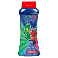 Make bath time fun again with characters from PJ Masks Catboy, Owlette & Gekko. Dye free, hypo-allergenic & tear free. Dermatologist tested.