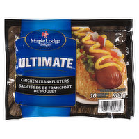Maple Lodge Farms Maple Lodge Farms - Ultimate Chicken Frankfurters, 10 Each