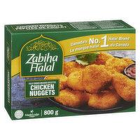 Zabiha Halal Zabiha Halal - Chicken Nuggets - Fully Cooked, 800 Gram