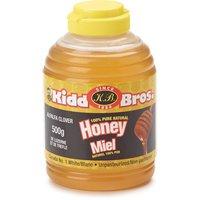 Kidd Bros - Unpasteurized Liquid Honey-Squeeze, 500 Gram