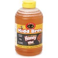 Kidd Bros - Unpasteurized Liquid Honey-Squeeze, 1 Kilogram