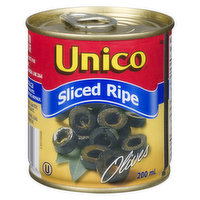 Canned Sliced Ripe Black Olives.