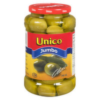 Unico - Jumbo Olives, 750 Millilitre