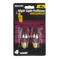 Philips - Night Light Clear Bulb 4w