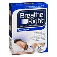 Breathe Right - Large Nasal Strips - Tan