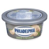 Kraft Philadelphia - Spreadable Cream Cheese -Herb & Garlic