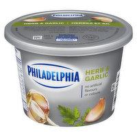 Kraft Philadelphia - Spreadable Cream Cheese - Herb & Garlic